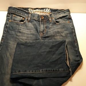 Madewell 28 x 34 jeans